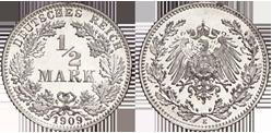 1905 1919 12 Mark Jägernummer 16 Beutler Münzen Kursmünzen