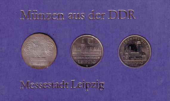 Messestadt Leipzig Beutler Münzen Thematische Sätze Dt