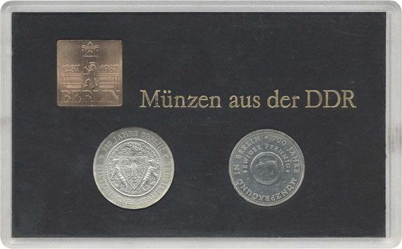 750 Jahre Berlin Beutler Münzen Thematische Sätze Dt Demokratische