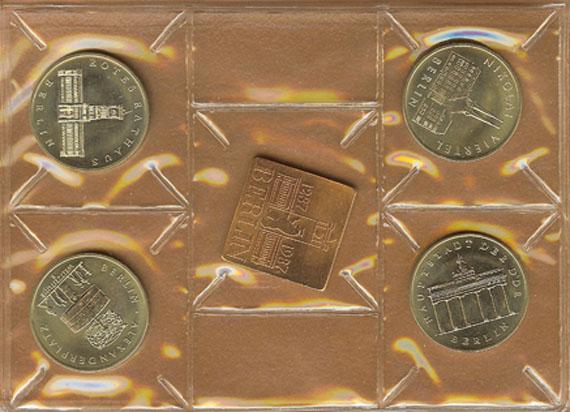 750 Jahre Berlin Münztasche Beutler Münzen Thematische Sätze Dt