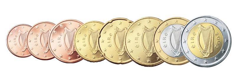 Irland Kursmünzen Sätze Lose Beutler Münzen Kursmünzen Lose Euro