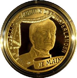 50 Niederlande Krönung Willem Alexander 50 Beutler Münzen