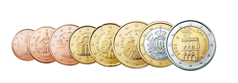 San Marino Kursmünzen Sätze Lose Beutler Münzen Kursmünzen Lose