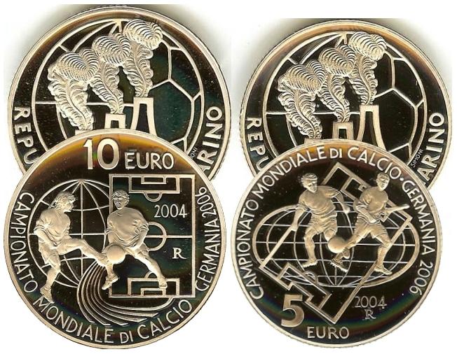 San Marino Fußball Wm 2006 Deutschland Set 510 Euro Beutler