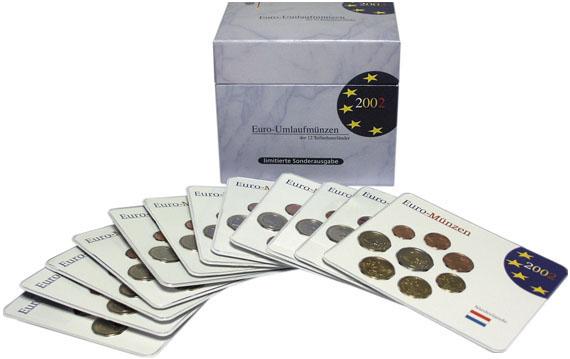 Kursmünzsätze Aller 12 Euroländer Beutler Münzen Komplettbox